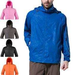 Men Women Jacket Waterproof Windproof Outdoor Cycling Sport