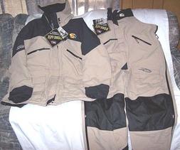 Mens 3X Tall Genuine Goretex Set Rain Jacket Rain Pants Bib