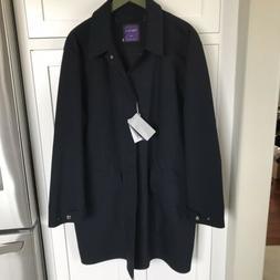 Ralph Lauren Purple Label Men's New $1,995 Rain Coat Trenc
