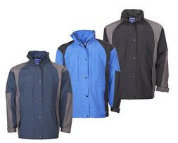 mens waterproof jacket coat breathable windproof outdoor