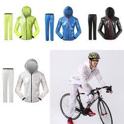 Mens Womens Windproof Waterproof Jacket Bike Bicycle Outdoor