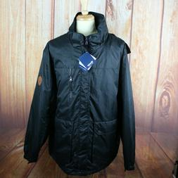Wantdo Men's XL NEW NWT Jacket Windproof Black Polyester R