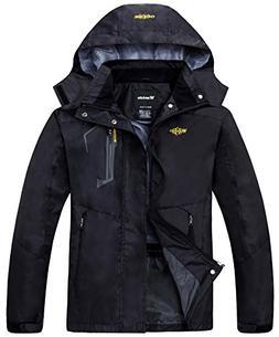 Wantdo Men's Mesh Lining Outdoor Raincoat Jacket Hiking Wind