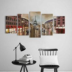 Modern Decoration for Living Room Bedroom Home rain in Paris