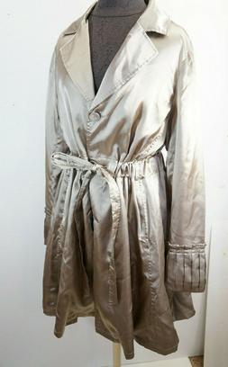 MONTANACO Montana Clothing Co. Gold Rain Trench Fashion Coat