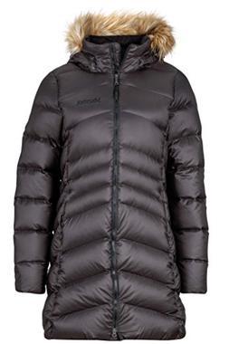Marmot Montreal Women's Knee-Length Down Puffer Coat, Fill P