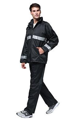 Maiyu Motorcycle Rain Suit Waterproof Rain Jacket and Pants