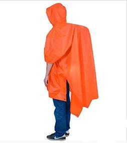 QHUMO Multifunctional Rain Ponchos for Adults, Reusable Ligh