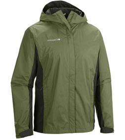New $90 Columbia mens waterproof Timber Pointe hooded rain j