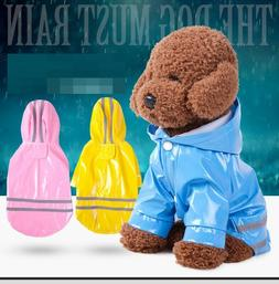 New Dog Raincoat Waterproof Pet Rain Coat Rain Wear Clothes