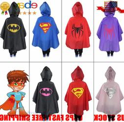 new kids rain coat poncho rainwear waterproof