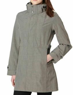 NEW Kirkland Signature Ladies' Trench Rain Coat Jacket Light