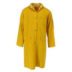 New Tuff Grip Men's Rain Coat with Detachable Hood