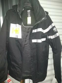 New Helly Hansen Mens XL Full Zip Salt Power Jacket Hiking R