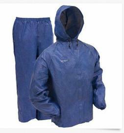 New Frogg Toggs Ultra Lite 2 Rain Suit w/ Storage Bag BLUE U