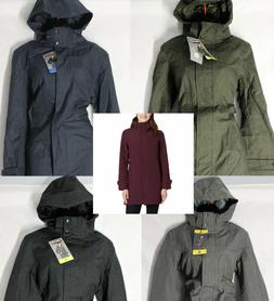 NEW VARIETY Women's Kirkland Signature Trench Coat Rain Hood