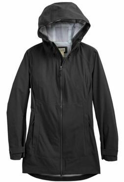 NEW Duluth Trading Company Women's Dryfecta Rain Coat NWT co
