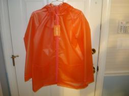 New Women's Transparent PVC Raincoat Coat Jacket Joe Fresh,