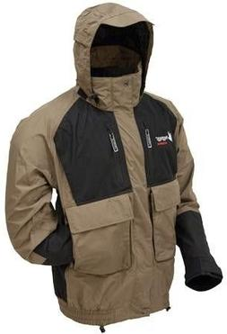 Frogg Toggs NT6201-105SM Firebelly Toadz Jacket SM-BK/ST