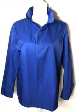Orvis NWOT Women's Blue Rain Jacket Coat Size M