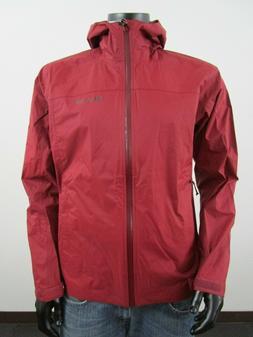 NWT Mens M Columbia Evapouration Waterproof Hooded Rain Jack