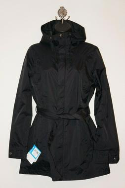 NWT COLUMBIA PARDON MY TRENCH JACKET BELTED PARKA TRAIL RAIN