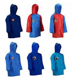 Official Kids Novelty TV Characters Boys Hooded Raincoat Rai
