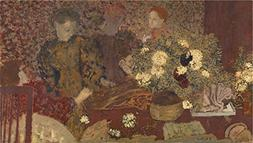 Oil Painting 'Edouard Vuillard The Earthenware Pot ' Printin