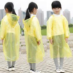 One Time Use Kids Boys Girls Raincoat Baby Waterproof Childr