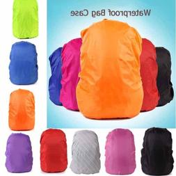 Outdoor Camping Backpack Pack Rain Cover Raincoat Elastic Hi