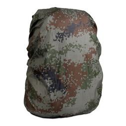 Outdoor Camping Hiking Backpack Camouflage Pack Cover Rainco