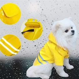 Outdoor Puppy Pet <font><b>Rain</b></font> <font><b>Coat</b>