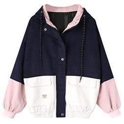 baskuwish Women Outwear Clearance Sale! Women Long Sleeve Co