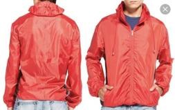 TOTES PACKABLE RAIN JACKET/ PONCHO S/M - RED- Brand New!!!