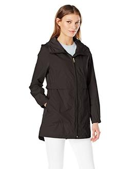 Women's Cole Haan Packable Utility Jacket, Size Large - Blac
