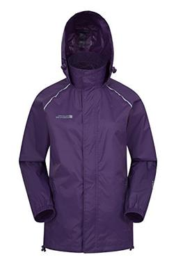 Mountain Warehouse Pakka Womens Rain Jacket – Waterproof R