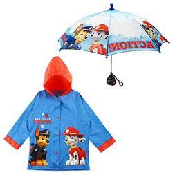 Paw Patrol Raincoat Little Kid Umbrella Rain Slicker Folding