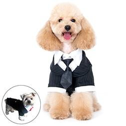 Alfie Pet by Petoga Couture - Oscar Formal Tuxedo with Black