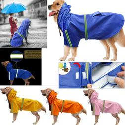 Pet Waterproof Lightweight Puppy Large Dog Coat Jacket Hoodi