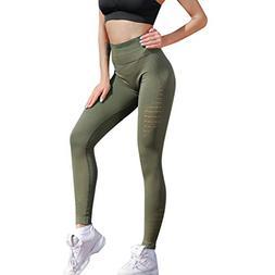 Plus Size Women's Soft Yoga Pants Sexy Denim Pants Pocket Sl