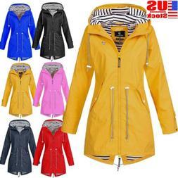 Plus Size Womens Windproof Jacket water resistant Outdoor Ho