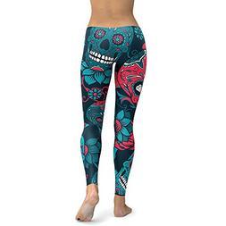 Plus Size Yoga Pants Sexy Yoga Pants Women's Print Workout L