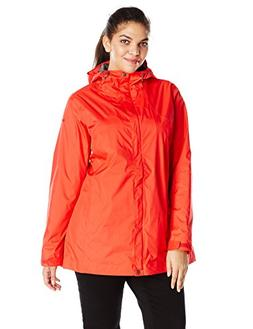 Columbia Women's Plus-Size Splash A Little Rain Jacket, Red