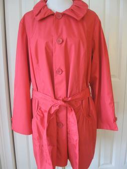 plus sz 2x rain coat jacket water