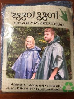 Frogg Toggs Poncho lightweight adult emergency One Size Fits