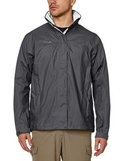 Marmot Men's PreCip  Jacket Cinder/Slate Grey LG