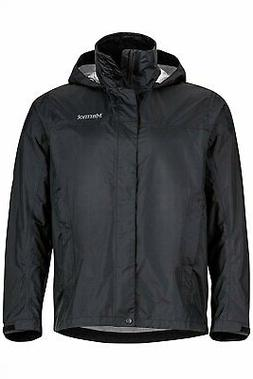Marmot Men's PreCip® Jacket, Large, BLACK