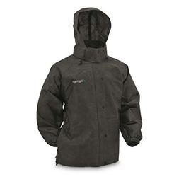 Frogg Toggs Pro Action Rain Jacket, Black, Size XXX-Large
