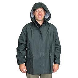 UltraSource PVC Rain and Fishing Jacket w/Hood, Size 2X-Larg