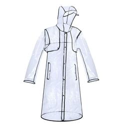 pvc raincoat rain coat women girls men